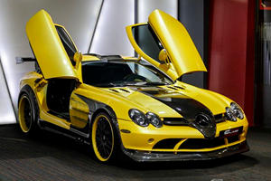 This Unique Black And Yellow Supercar Looks Insane