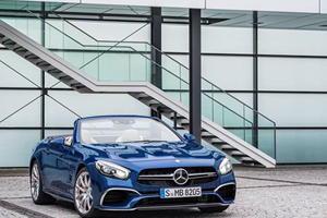 The New Mercedes SL Just Leaked Out In Full Before Its Official LA Debut