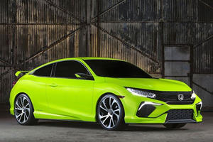The New Civic Coupe Is Headed For LA: Will It Look As Good As This?