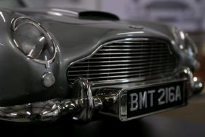 Someone Wants Over $40,000 For A James Bond Aston Martin That Can't Be Driven