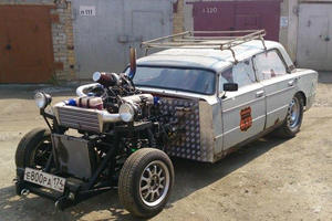 This Is Some Russian Maniac's Idea Of A Miracle Hot Rod