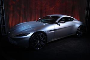 Here's James Bond's Badass Aston Martin DB10 In The Metal