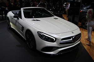 This Is The New Mercedes-Benz SL: Ravenous Roadster Unveiled In LA