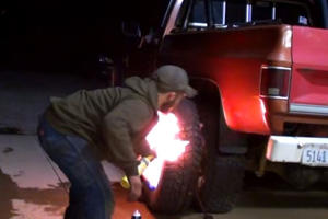 How To Seat A Tire With Fire Like An Absolute Lunatic