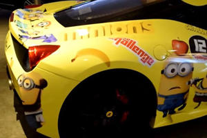 This Minions Ferrari 458 Speciale Is The Most Kid-Friendly Supercar Ever