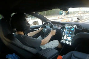 This Is What Happens When You Leave Teens Alone With A 691 Horsepower Tesla
