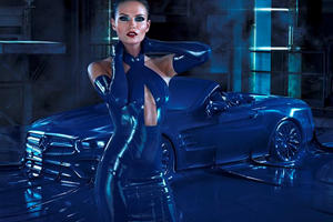 Mercedes Covered Its New SL In Latex Because Fashion...We Think