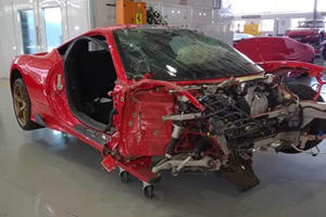 Who In the World Is Willing To Pay This Amount For A Wrecked Ferrari?