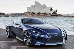 Will Lexus' Production LC 500 Look Like Its Stunning Concept?