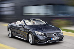 Say Hello To The Mercedes S65 Cabriolet: The Ultimate Luxury Convertible