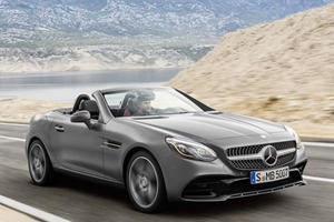 Mercedes-Benz Has Killed The SLK; Introducing The SLC