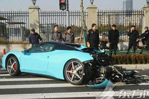 Wrecking A Gorgeous Ferrari 458 Is The Best Way To Ruin Christmas