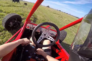 This Is What Happens When Someone Shoves A Superbike's Engine Into A Buggy