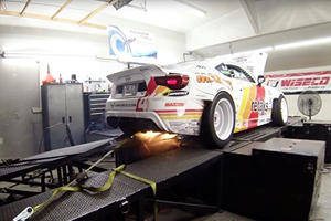 Get Ready To Be Blown Away By A Drift Car On A Dyno