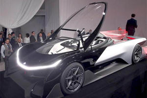 Faraday Future's 1,000-HP Electric Concept Car Is Straight Out Of A Video Game