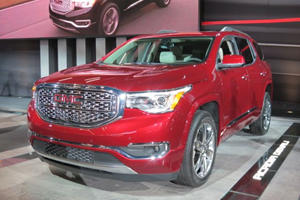 GMC Brings A Refreshed And Athletic Acadia To The Detroit Auto Show
