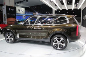 Would You Beliveve This SUV Sporting Suicide Doors Is A Kia Concept?