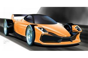 Rendered: Hulme F1 Supercar