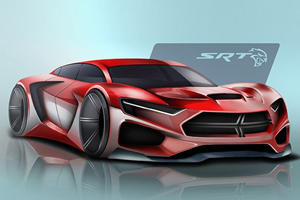 Is This What The Dodge Hellcat Will Look Like In 2025?