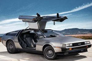 We Must Have Went Back To The Future Because The DeLorean Lives Again!