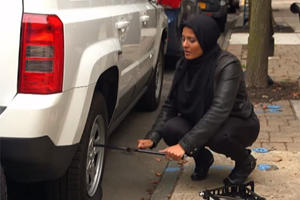 What Would You Do If A Muslim Woman Needed Help Changing A Tire?