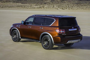 The 2017 Nissan Armada Is Rugged And Modern In All The Right Ways
