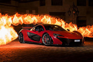 What's So Special About This Bright Red McLaren P1?