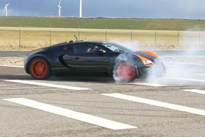 Did This Bugatti Veyron Just Do The Most Expensive Donuts Ever?