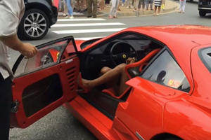 Can You Really Drive A Ferrari F40 With High Heels?