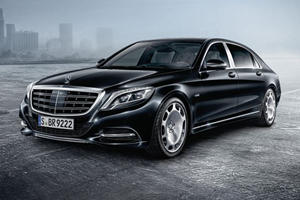 The Mercedes-Maybach S 600 Guard Will Keep You Alive When Your Enemies Come To Kill You