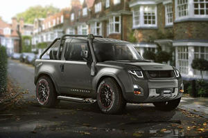 Could The Land Rover Defender Replacement Look Like This?