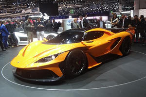 The Brutally Powerful And Beautiful Apollo Arrow Is The World's Newest Hypercar