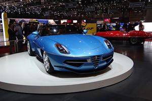 How Can You Not Love The Alfa Romeo Disco Volante Spider?