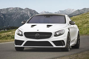Mansory's 830-HP S-Class Coupe Platinum Is A Spectacular One-Off