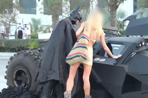 What Happens When You Use A Batmobile To Pick Up Girls?