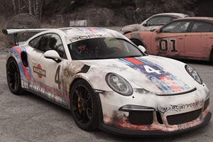 This Might Be The Coolest Porsche 911 GT3 RS Livery Ever