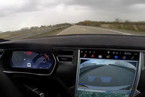 Tesla's Ludicrous Mode And The Autobahn Go Together Like Peanut Butter And Jelly