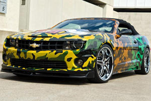 WCC Camo Camaro Fetches $333K for the Troops