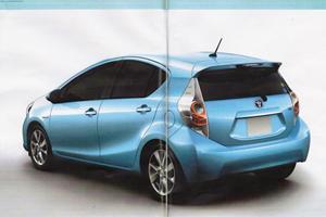 Leaked: Toyota Prius C City Car