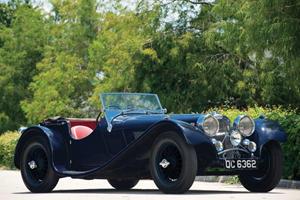 Rare 1938 Jaguar SS 100 3.5-liter Roadster up for Auction