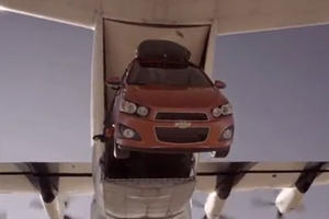 Video: The Chevrolet Sonic Goes Skydiving