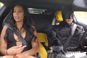 Having Your Uber Driver Be Batman In An Aventador Is The Best Surprise