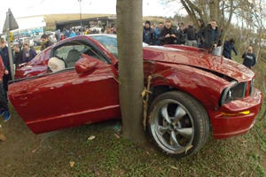 Why Do Mustangs Always Seem To Crash At Cars & Coffee Events?
