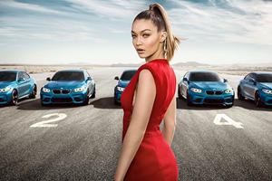 BMW Asks Supermodel Gigi Hadid To Help Sell The BMW M2