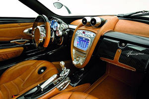 Interiors Explained: How 4 Materials Make The Pagani Huayra's Interior The Best In The World