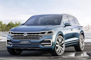 Volkswagen's T-Prime GTE Concept Previews A New SUV That Definitely Won't Be A Diesel