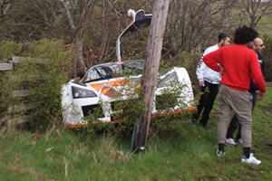 Can We Have A Moment Of Silence For This Wrecked Gumpert Apollo?