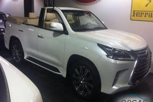 We Really Hope Someone Doesn't Spend $350,000 On A Convertible Lexus LX 570