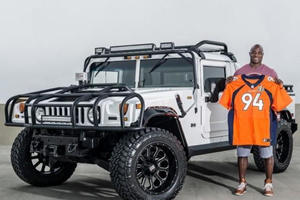 This 2016 Super Bowl Champion's Custom Hummer Is Up For Grabs