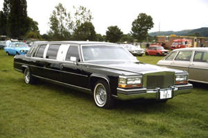 The Trump Series Golden Edition Cadillac Limousine Was The Donald's Decadent Office On Wheels